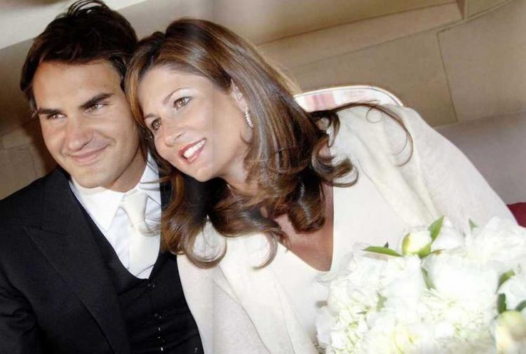 Roger Federer With His Wife Latest Still