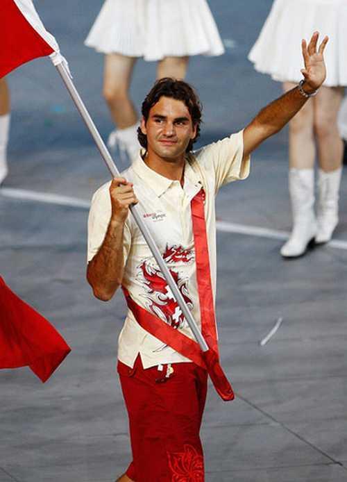 Swiss Tennis Star Roger Federer Pics