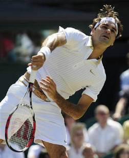 Tennis Star Roger Federer Play Still