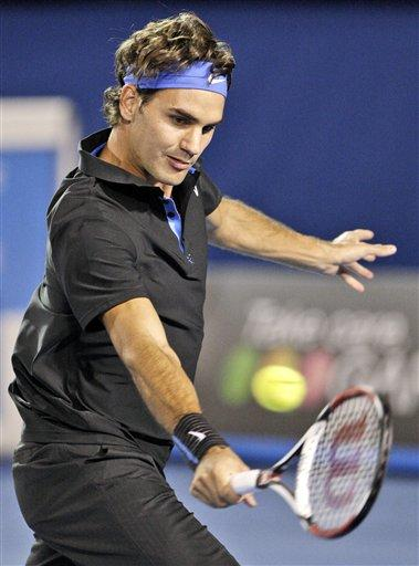 Roger Federer Black Color Sport Dress Still