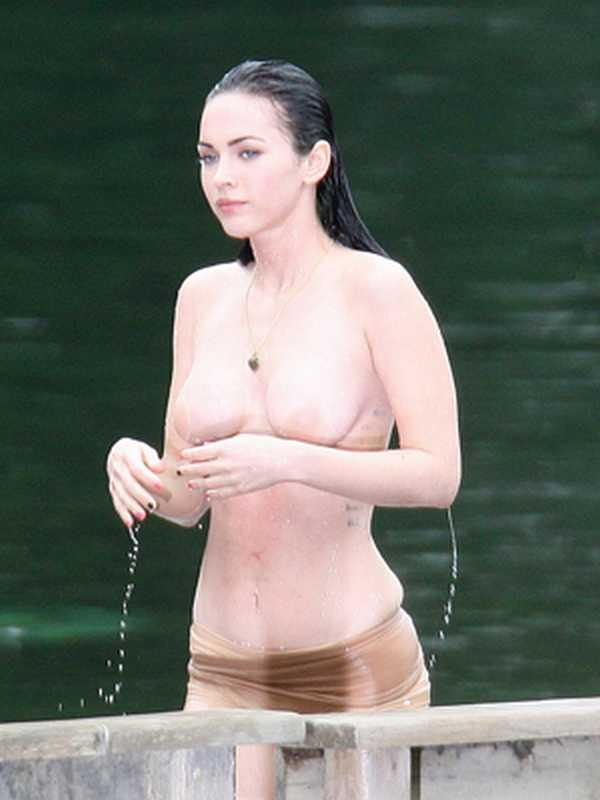 Megan Fox Without Clothes Picture