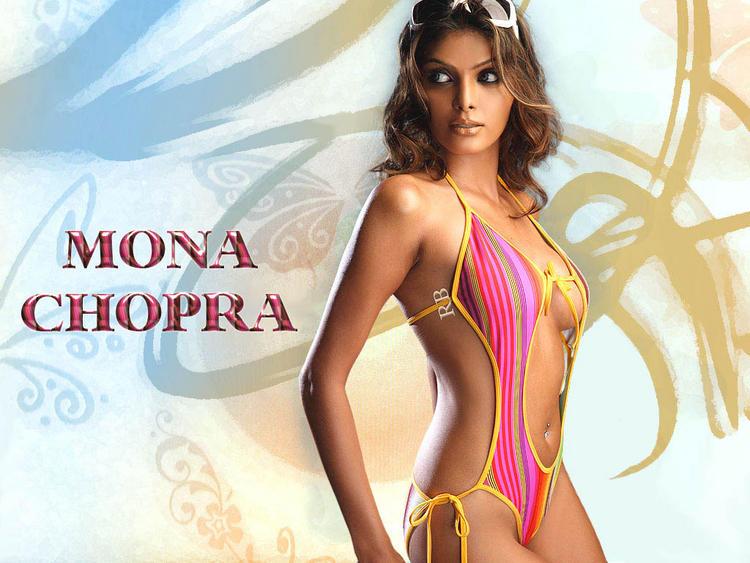 Mona Chopra Hot look Wallpaper
