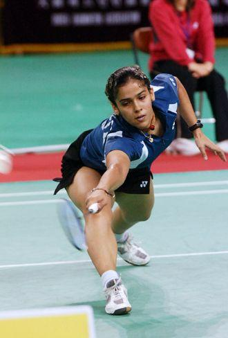 Indian Badminton Ace Saina Nehwal Stills