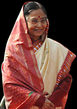 Pratibha Patil Traditional Saree Still