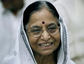 Pratibha Patil Cute Smile Pic