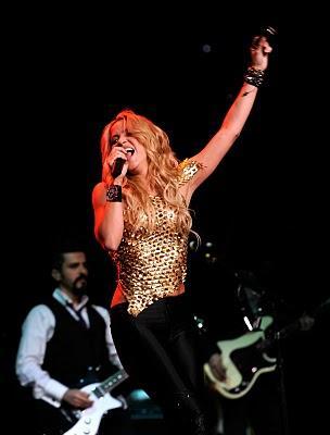 Shakira Live Performance at Madison Square Garden