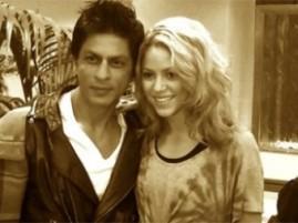 Shakira and Shah Rukh Latest Wallpaper