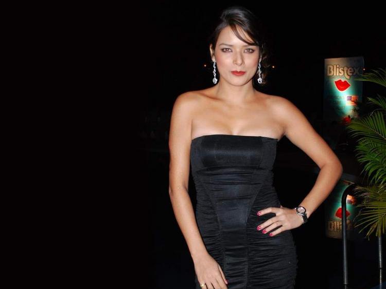 Udita Goswami in slip dress