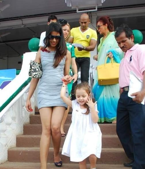 Hot Mugdha Godse Pics at Gladrags CN Wadia Cup