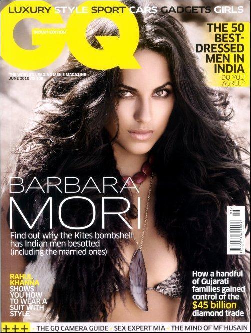 Barbara Mori In GQ Magazine