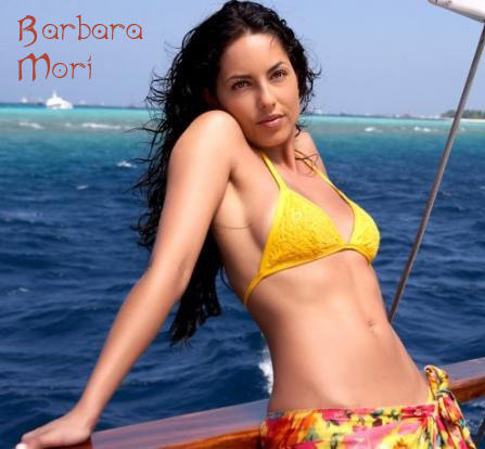 Barbara Mori Hot Navel Spicy Wallpaper