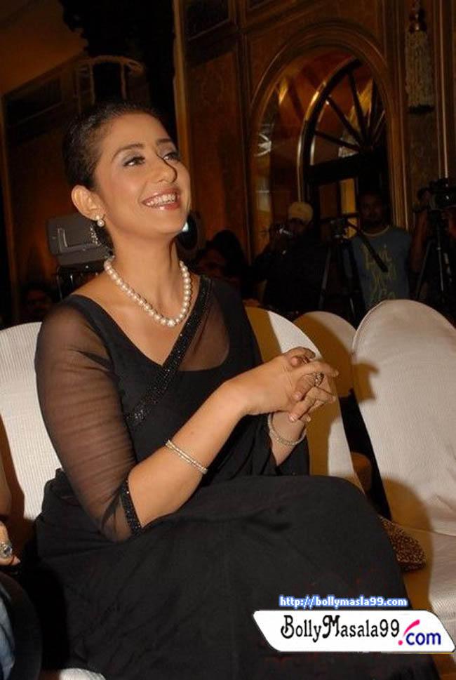 Manisha Koirala Transparent Saree Still