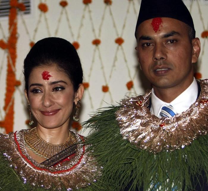 Manisha Koirala and Samrat Dahal Wedding Still