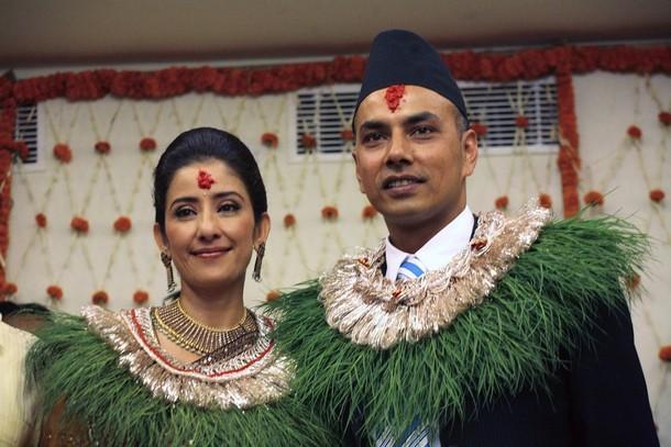 Nepal Beauty Manisha Koirala Marriage Photo