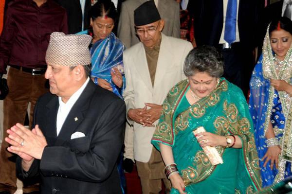 Manisha Koirala and Samrat Dahal Images