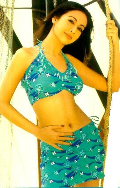Preeti Jhangiani Sexy Navel Show Wallpaper