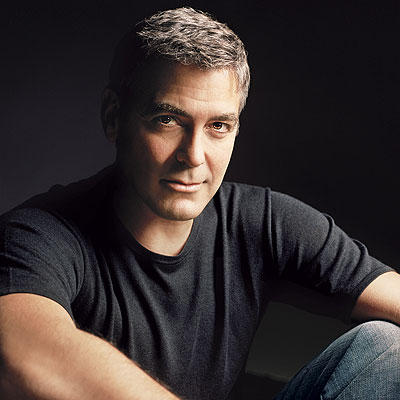 Sexiest George Clooney Face Look Wallpaper