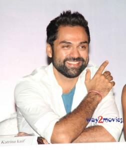 Abhay Deol with open smile