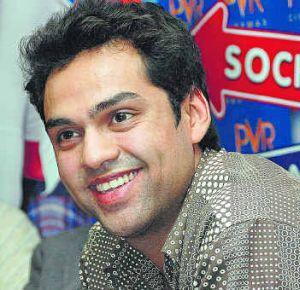 Abhay Deol with sweet smile look