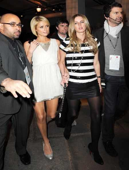 Paris Hilton Short Dress Walk Still