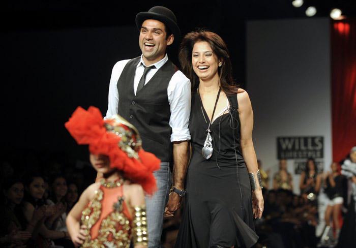 Abhay Deol at Wills India Fashion Week