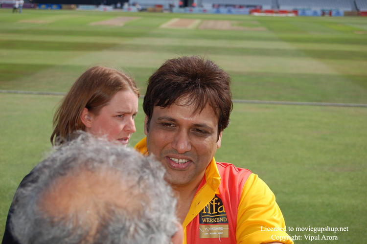 Govinda at IIFA Cricket Match