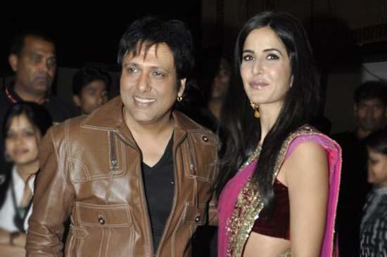 Govinda And Katrina Kaif At Apsara Awards