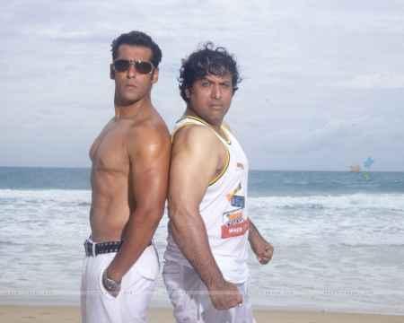 Govinda and Salman Khan in Partner