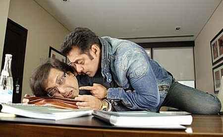 Govinda and Salman Khan in Partner