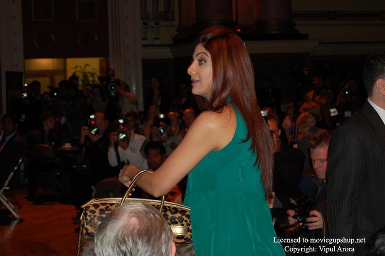 Shilpa Shetty at IIFA  Media Conference