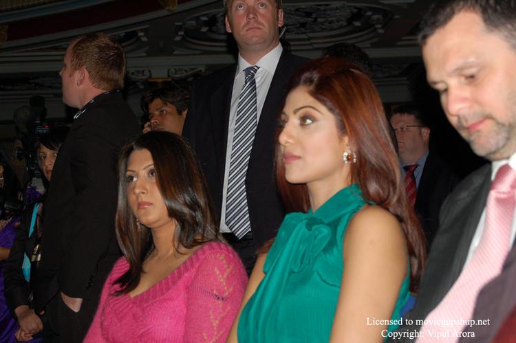 Shilpa Shetty and her bodyguard