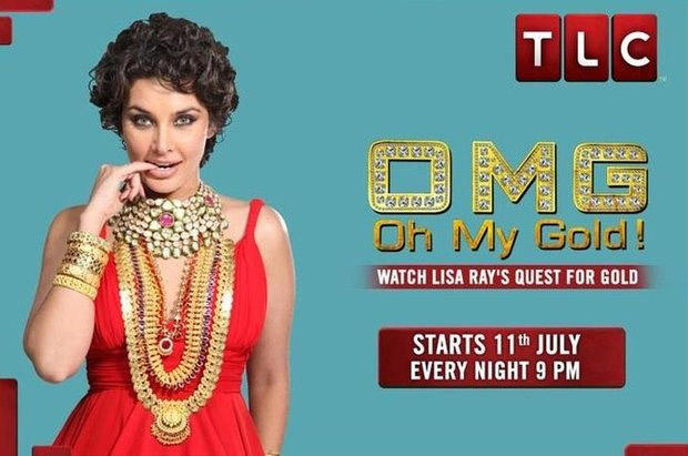 Lisa Ray Cute Pose For TLC May