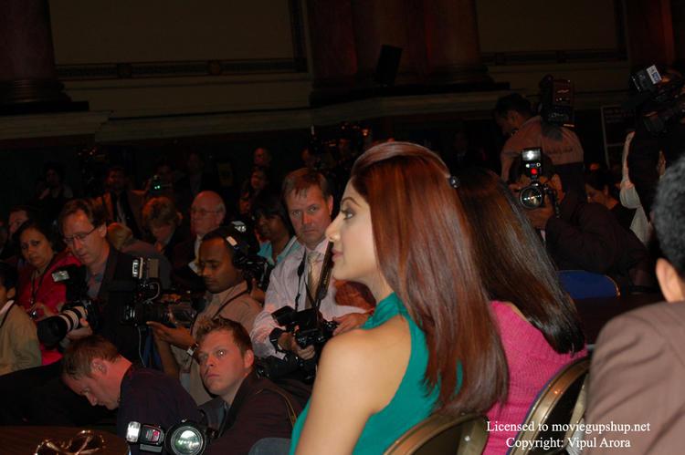 Shilpa Shetty and the press