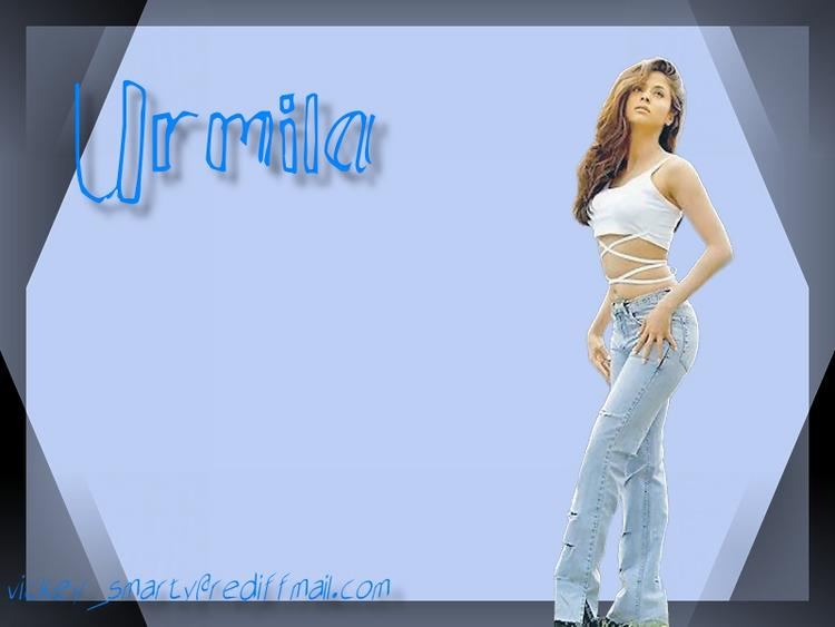 Urmila Matondkar Wallpaper Pic Waith Tight Jeans