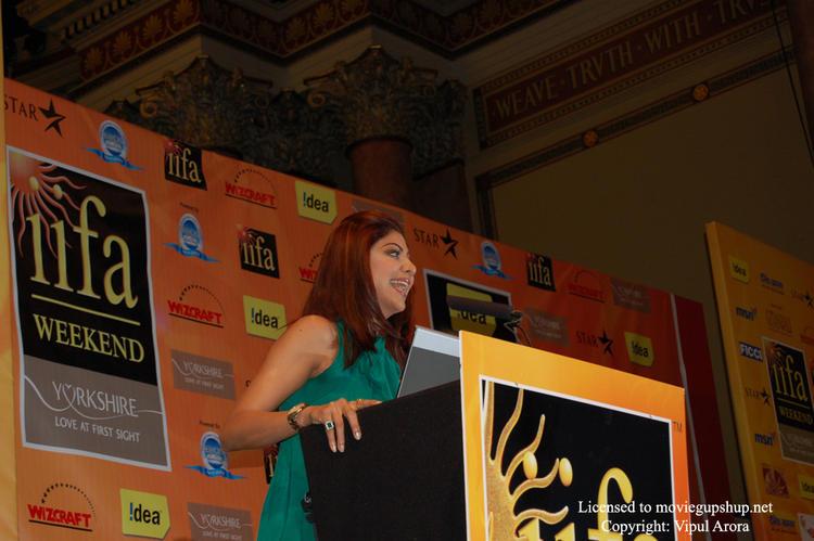 Shilpa Shetty having a laugh