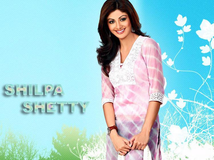 Shilpa Shetty with cute smile