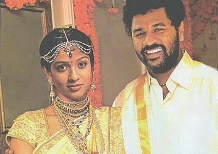 Prabhu Deva and Nayantara Latest Wallpaper
