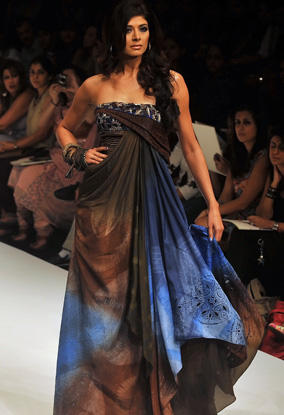 Pooja Batra at Lakme Fashion Week