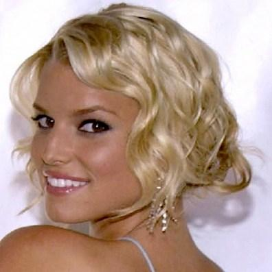 Jessica Simpson Short Hair Side Face Still