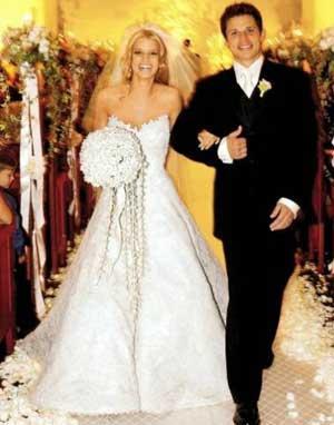 Jessica Simpson Wedding Still