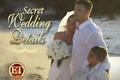Megan Fox and Brian Austin Green Wedding Wallpaper