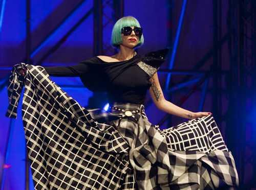 Lady Gaga Amazing Gown Pic