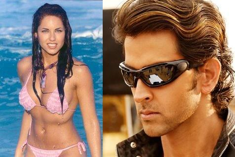 Hrithik Roshan and Barbara Mori Hot Still