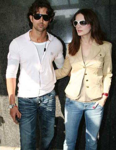 Hrithik Roshan With Wife Susanne