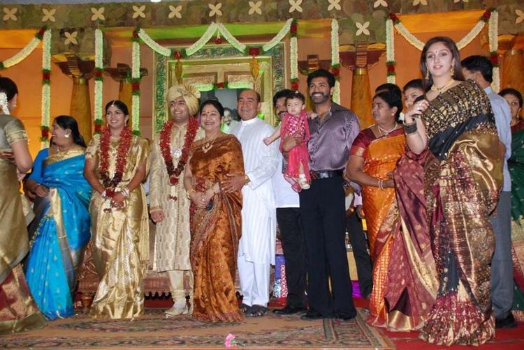 Prabhu Daughter Aishwarya Kunal Marriage Sridevi Photo