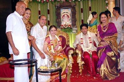 Sridevi Vijayakumar and Rahul Marriage Photo