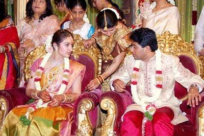 Sridevi Vijayakumar and Rahul Marriage Pics