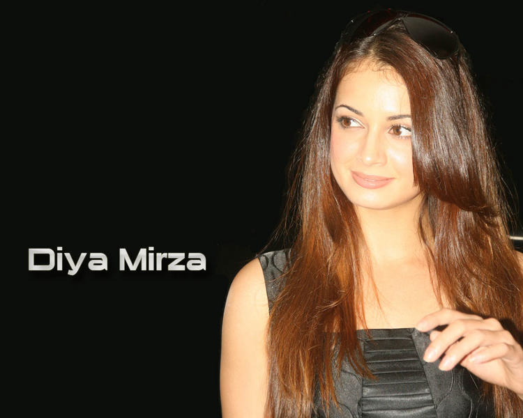 Diya Mirza Latest Gorgeous Wallpaper