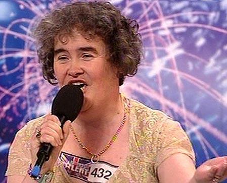 British Singer Susan Boyle Still
