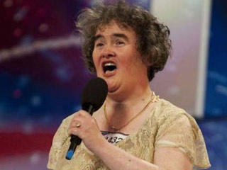 Susan Boyle Britain Got Talent Show Audition Still